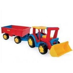 Gigant Truck Traktor Ładowarka z Przyczepą WADER 66300- #A1