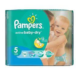 Pampers, Active Baby-Dry, Pieluszki jednorazowe, Junior, Value Pack Minus, 36 szt.