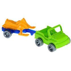 Wader Kid Cars Sport Autko z Przyczepą losowe