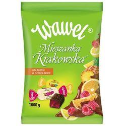 WAWEL 1kg Mieszanka Krakowska Galaretki w czekoladzie
