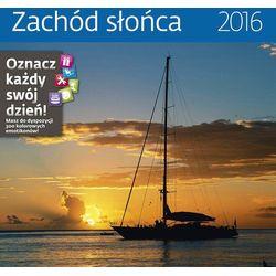 Kalendarz 2016 Zachód słońca