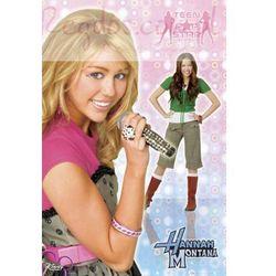 Miley Cyrus Hannah Montana teen popstar - plakat