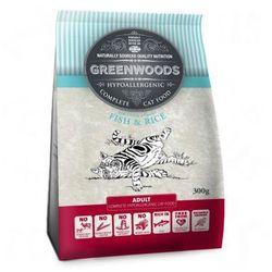 Greenwoods karma dla kota Adult, Ryba - 2 kg