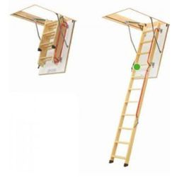 Schody strychowe FAKRO LWL LUX 70x130/305