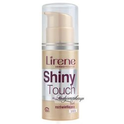 Lirene - Shiny Touch - Fluid rozświetlający-107 - BEŻOWY
