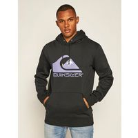 Quiksilver Bluza Square Me Up Hoodie EQYFT04203 Czarny Regular Fit