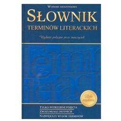 Słownik terminów literackich kieszonkowy (opr. twarda)
