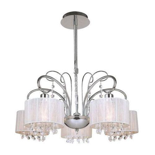 Dekoracyjna Lampa Wisząca Span Mdm15835 Italux Abażurowa Oprawa