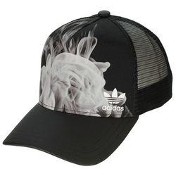 czapka z daszkiem adidas Originals White Smoke Trucker - Black