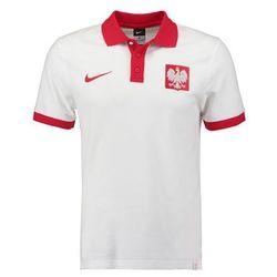 Nike Performance POLSKA CORE MATCHUP Koszulka polo white/sport red