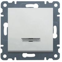 Łącznik kontrolny schodowy, lumina2, biały WL0220