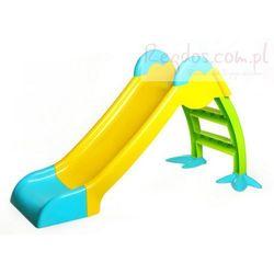Solidna Plastikowa zjeżdżalnia kaczka - Emily
