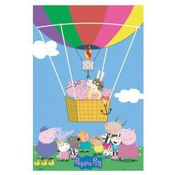 Świnka Peppa Balloon - plakat