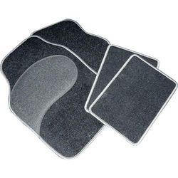 Zestaw dywaników samochodowych Eufab 28025 Diamond, czarny/szary