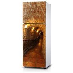 Naklejka na lodówkę - W podziemia - Naklejka laminowana