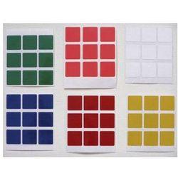 Naklejki na kostkę Rubika 3x3x3