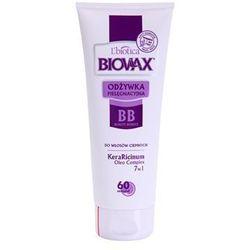 L'biotica Biovax Dark Hair odżywka odżywiająca do wzmocnienia włosów i nadania im większego połysku + do każdego zamówienia upominek.