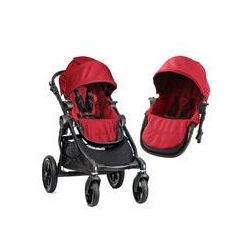 Wózek wielofunkcyjny City Select Double Baby Jogger + GRATIS (red)