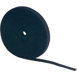 Taśma rzepowa Do wiązania element z pętelkami i haczykami (DxS) 5000 mm x 10 mm Czarny Fastech FAST-STRAP METERWARE 10 MM BLACK 5 M 5 m