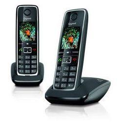 Telefon domowy Siemens C530 IP (S30852-H2506-R601) Czarny