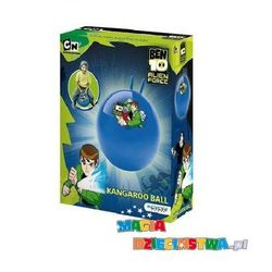 Piłka z rogami do skakania dla dzieci Ben 10