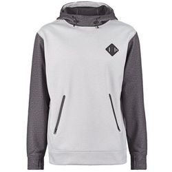 Burton Bluza z polaru hirise heather/dark grey heather