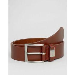 Hugo Boss Connio Leather Belt - Tan