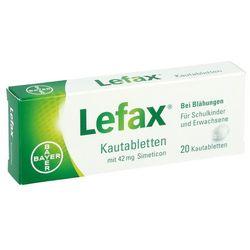 Lefax tabletki do żucia 20 szt.