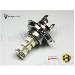 Żarówka Led H4 18x SMD5050 12V DC DRL do Jazdy dziennej