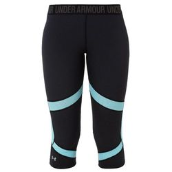 Under Armour COOLSWITCH Legginsy black/skyblue