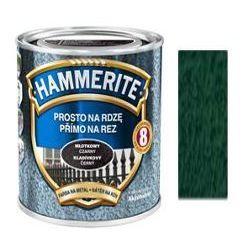 Farba Prosto Na Rdzę - Efekt Młotkowy Ciemnozielony 2,5L Hammerite