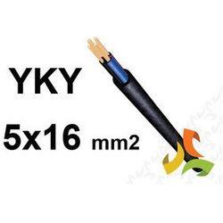 KABEL YKY 5x16mm2 0,6/1kV PRZEWÓD ZIEMNY MIEDZIANY