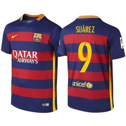 Koszulka Nike FC Barcelona Home junior Suarez