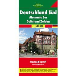 Niemcy. Część południowa 1:500 000 (opr. twarda)
