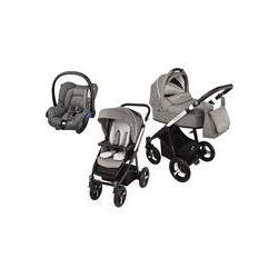 Wózek wielofunkcyjny 3w1 Lupo Husky Baby Design + Citi GRATIS (szary 2016)