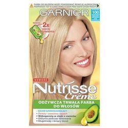 Nutrisse Creme Farba do włosów Bardzo Bardzo Jasny Naturalny Blond nr 100