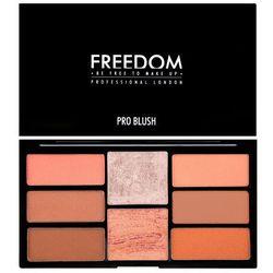 Freedom, Pro Blush Palette Peach And Baked, Zestaw do konturowania Darmowa dostawa do sklepów SMYK