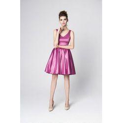 Sukienka Konstancja różowa
