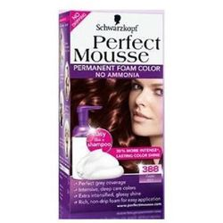 SCHWARZKOPF Perfect Mousse farba do wlosow bez amoniaku 388 Dark Redbrown