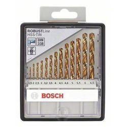 Zestaw wierteł krętych do metalu Bosch 2607010539, HSS, Uchwyt prosty, 1 zest.