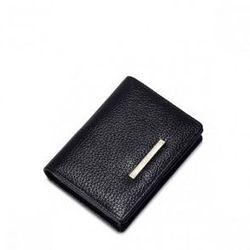 Niewielki damski portfel Czarny