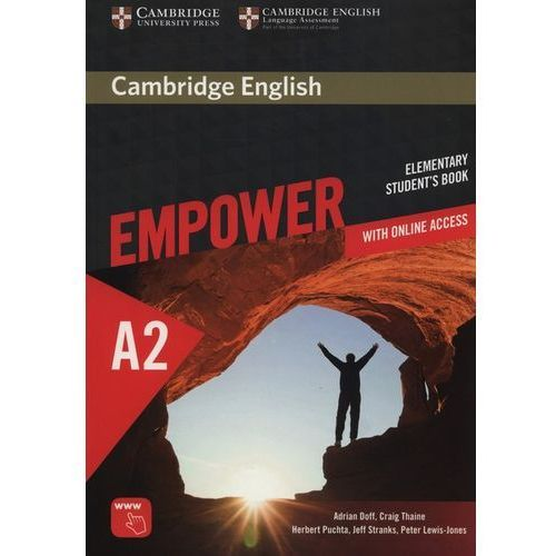 Cambridge English Empower Elementary Student's Book with Online Assessment and Practice, and Online Workbook (opr. miękka)