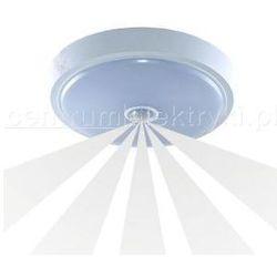 ORNO LAMPA SUFITOWA ANZU LED Z CZUJNIKIEM RUCHU BIAŁA IP20 LED 1X15W 230V