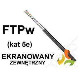 KABEL FTPw żelowany cat5e 4x2x0,5mm2 (ekranowany zewnętrzny, ziemny)