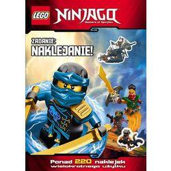 Lego Ninjago Zadanie: naklejanie! - Wysyłka od 3,99 (opr. miękka)