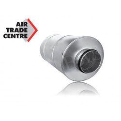 Tłumik prosty (600mm) o średnicy 200mm (TP600S200)