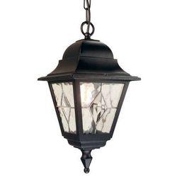 Zewnętrzna LAMPA wisząca NORFOLK NR9 Elstead zwis OPRAWA ogrodowa IP43 outdoor czarny