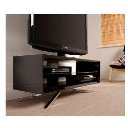 Techlink AA110B - Stolik pod telewizor, czarny - wysoki połysk