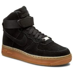 Buty NIKE - Air Force 1 Hi Suede 749266 001 Black/Black