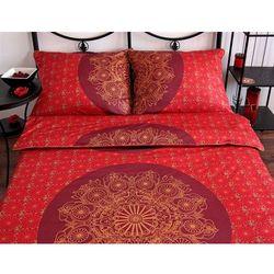 Pościel satynowa Noble Coronet Red 100% bawełny